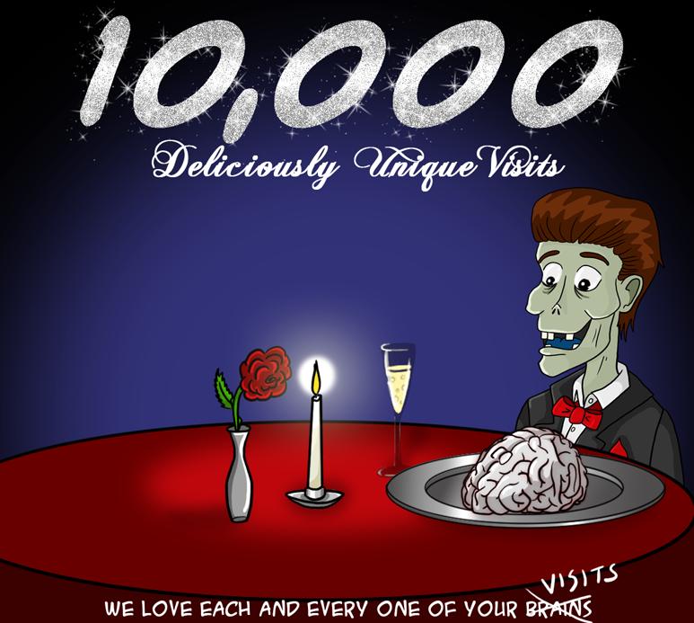10 000 Unique Visits!